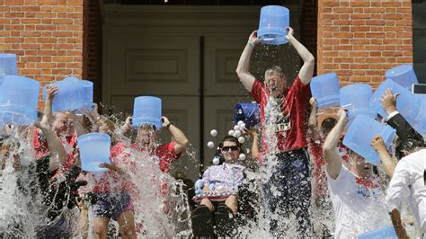 The Ice Bucket Challenge has led to a breakthrough in the