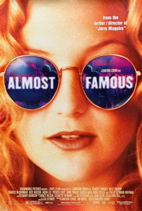 Original Almost Famous Movie Poster - Cameron Crowe - Kate