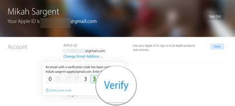 How to change the email address associated with your Apple