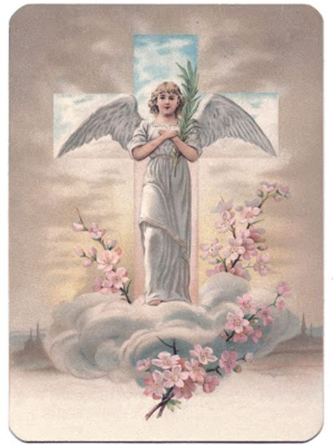 Easter Image - Especially Pretty Angel - The Graphics Fairy